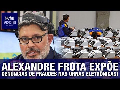 Alexandre Frota expõe denúncias e evidências de fraudes nas urnas eletrônicas | AUTENTICIDADE