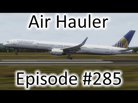 FSX | Air Hauler Ep. #285 - Last Flight In the Boeing 757 | 757-300