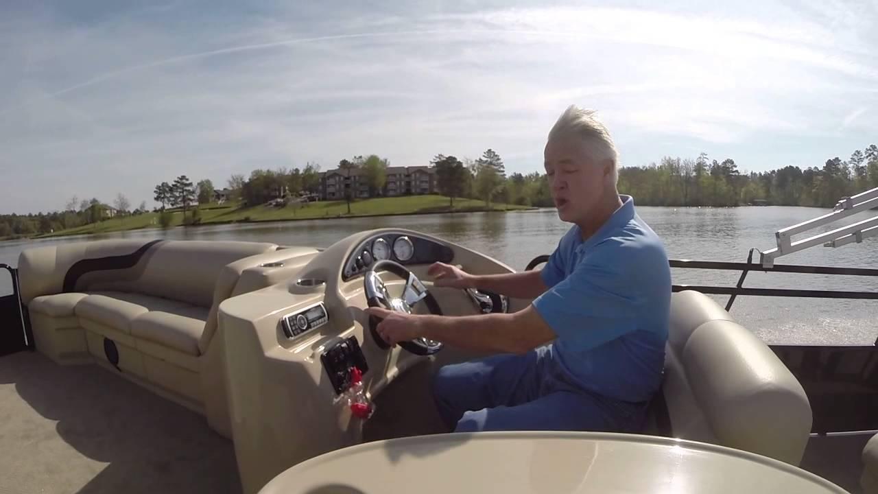 2014 Bentley 240 Cruise Se Pontoon Youtube