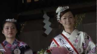 富士山本宮浅間大社において開催された、富士開山まつり、表富士燈籠&...