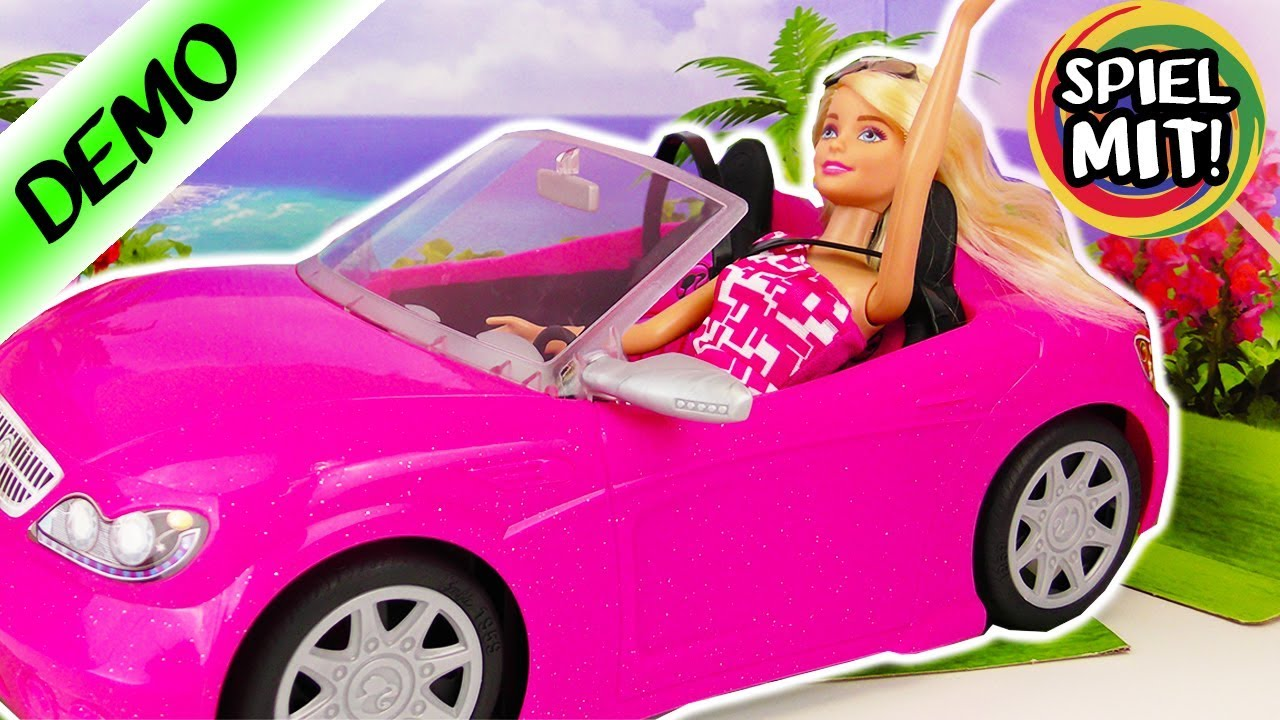 barbie cabrio schickes auto f r barbie beste. Black Bedroom Furniture Sets. Home Design Ideas