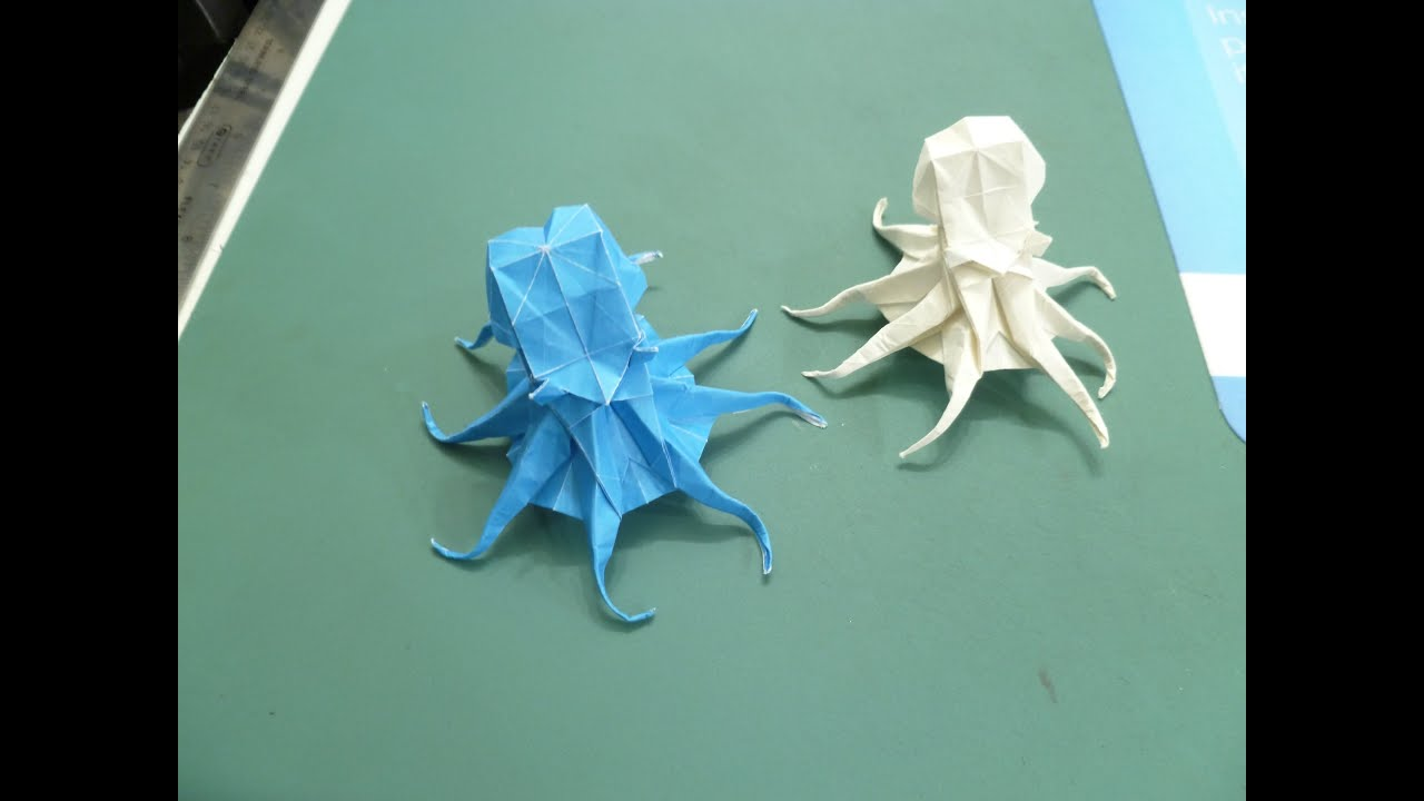 Satoshi Kamiya Octopus Folding Instructions From CP