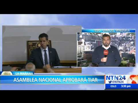 Asamblea Nacional aprobará asistencia militar extranjera para intentar sacar a Maduro del poder