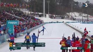 JO 2018 : Ski de Fond - 4x10km hommes : Les Bleus en bronze !
