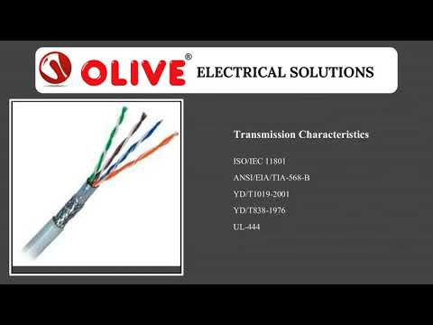 Cable CAT 6| Olive Cables