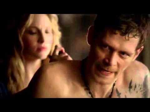 Vampire Diaries 4x18 Klaus and Caroline Part 2/4