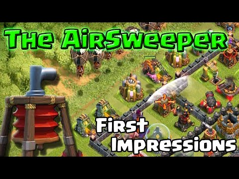 Clash of Clans | The Air Sweeper - How To Use It and How To Beat It