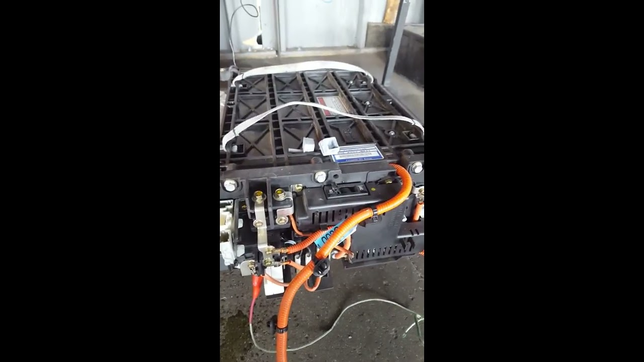 Lesson 2 Leccion Charging 2005 Honda Civic Hybrid High Voltage Battery Colton Repair