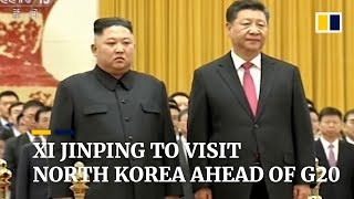 Xi Jinping to visit North Korea ahead of G20