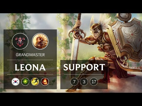 Leona Support vs Soraka - KR Grandmaster Patch 9.4