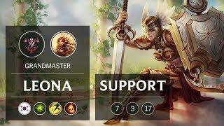 Leona Support vs Soraka - KR Grandmaster Patch 9.4