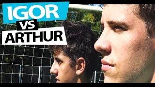 IGOR VS ARTHUR A BATALHA DO SÉCULO! {BZK}