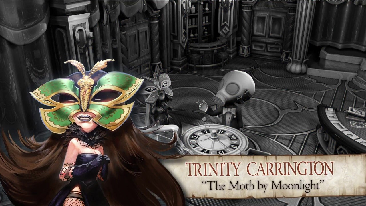 "The Sexy Brutale Character Series: Trinity Carrington ""The Moth by Moonlight"""