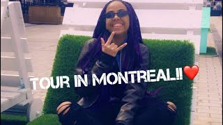 First time vlogging (Tour in Montreal)