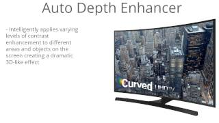 Samsung UN48JU6700 Curved 48-Inch 4K Ultra HD Smart LED TV Virtual Review