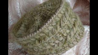 Шапочка-кубанка крючком(, 2015-10-21T18:46:46.000Z)