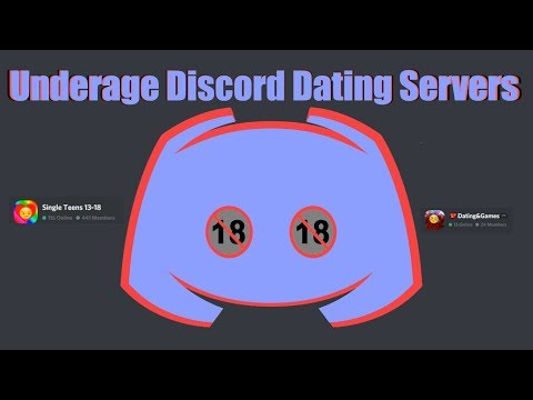 Underage Discord Dating Servers