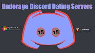 Underage Discord Dating Servers