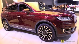 2019 Lincoln Nautilus - Exterior and Interior Walkaround - 2018 New York Auto Show