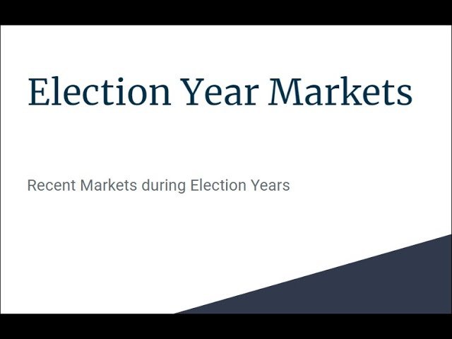 Election Years and Stock Markets