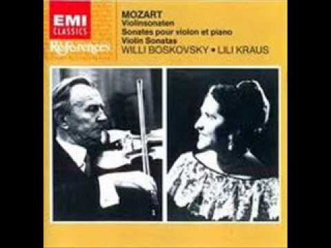 "Lili Kraus & Willi Boskowsky play Beethoven Sonata No. 5 in F Major Op. 24 ""Spring"" (3/3)"