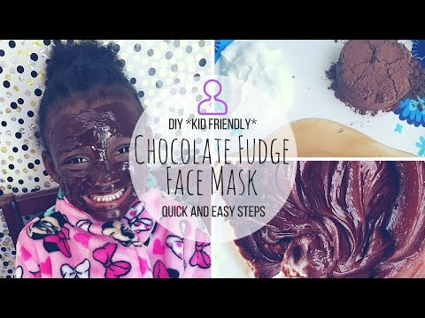 DIY Chocolate Fudge Face Mask | Kid Friendly