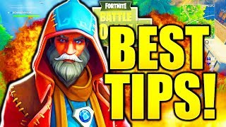 HOW TO BE A FORTNITE GOD FAST! PRO TIPS HOW TO GET BETTER AT FORTNITE TIPS AND TRICKS!