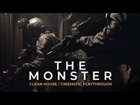The Monster - Clean House (Cinematic Playthrough) Modern Warfare