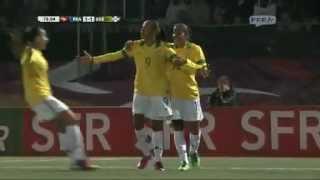 Résumé de France - Brésil (Féminines)