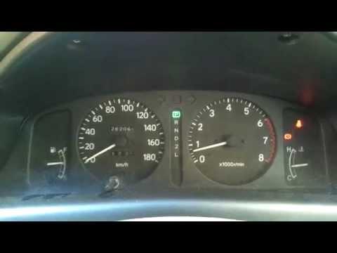 Обороты двигателя Toyota Corolla AE110 (ч.2)