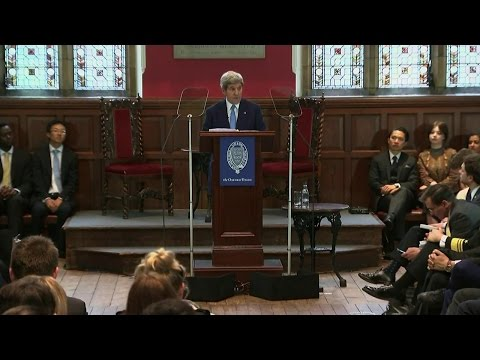 Remarks at Oxford Union, United Kingdom