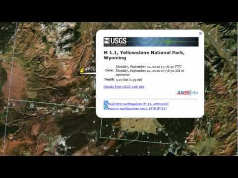 Yellowstone Earthquake Activity USGS Reports