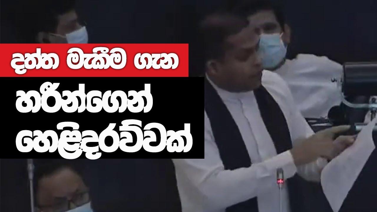 Download Harin Fernando Full Speech    Parliament    2021-09-22
