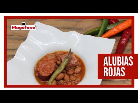 Frijoles cocinado en olla de presion doovi - Como cocinar alubias rojas ...