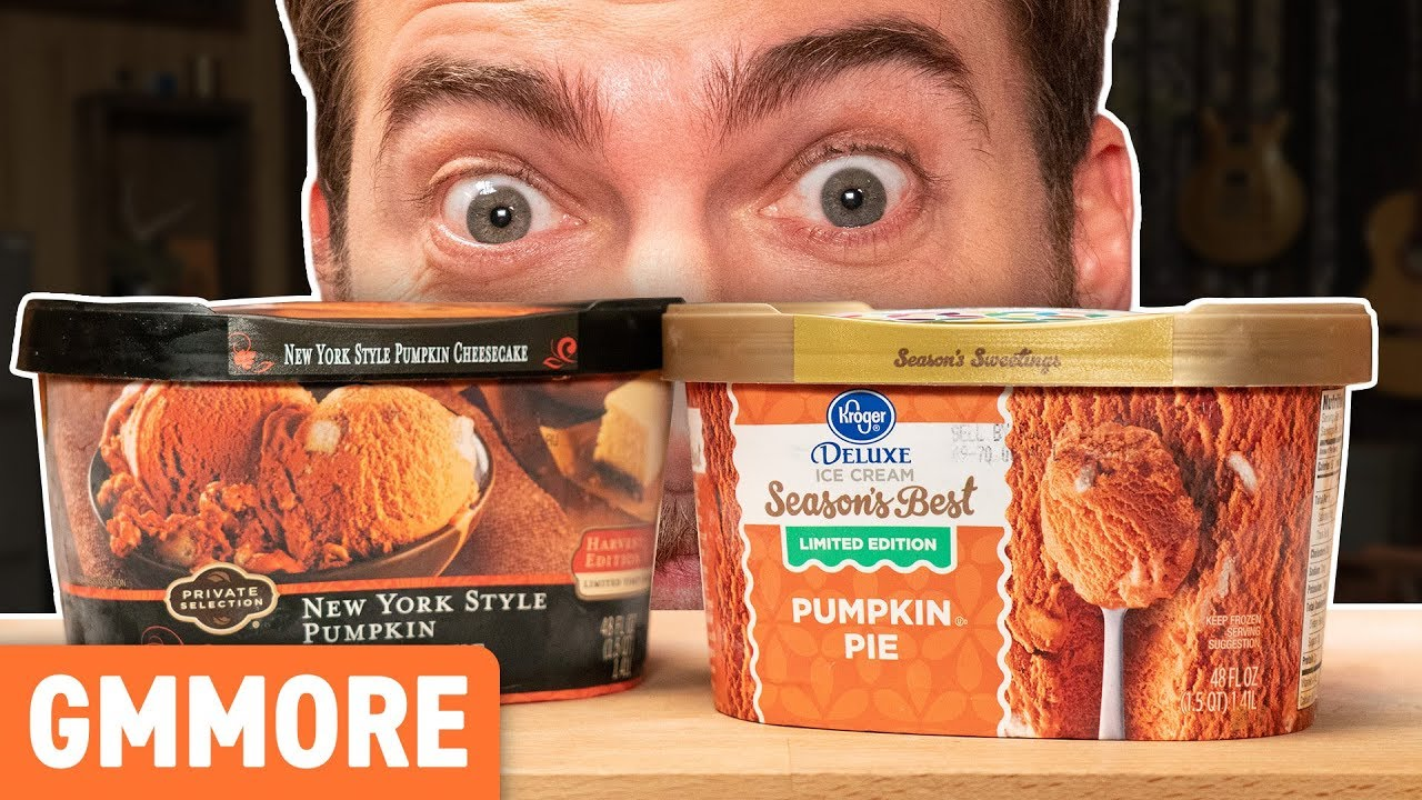 Pumpkin Ice Cream Taste Test