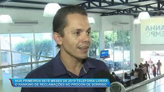 14/08/19 Telefonia lidera o ranking de reclamações no Procon de Sorriso nos primeiros 7 meses do ano