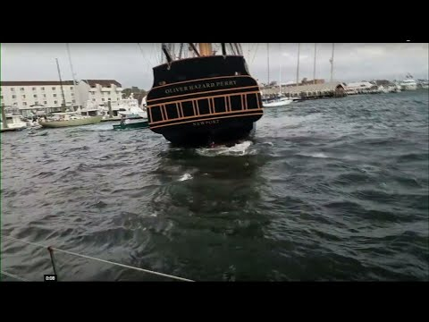 Dock Line Caused Rhode Island Tall Ship Crash