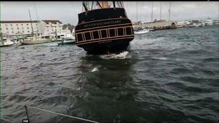 Dock Line Caused Rhode Island Tall Ship Crash
