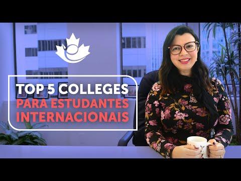 TOP 5 MELHORES COLLEGES PARA ESTUDANTES INTERNACIONAIS NO CANADA
