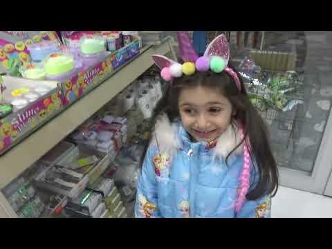 Lina İle Kırtasiyede Slime Alışverişimiz Ne Bulduysak Aldık | Funny Kids Video