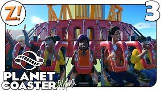 Planet Coaster [Alpha]: Das lustige Klo neben dem Freefall-Tower #3 | Let's Play ★ [GERMAN/DEUTSCH]