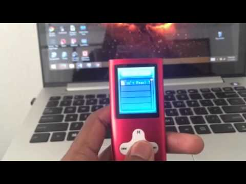 How to use an eclipse MP3 player