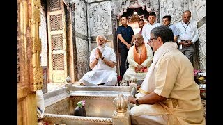 VARANASI: PM MODI OFFERS PRAYERS AT KASHI VISHWANATH TEMPLE