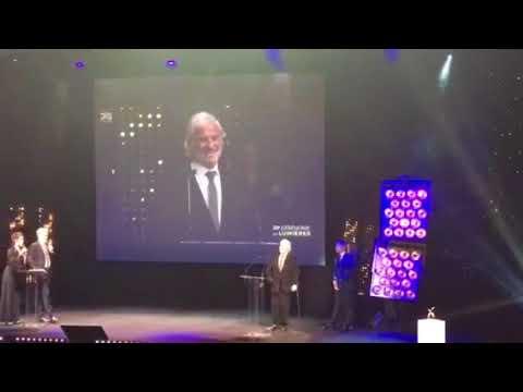 L'hommage de la Cérémonie des  Lumières 2018 à Jean-Paul Belmondo -4
