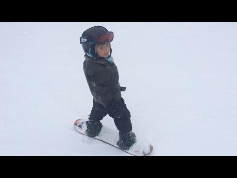 Teaching Children To Snowboard: Part 1