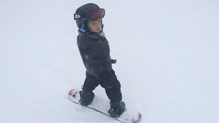 Teaching Children To Snowboard: Part 1