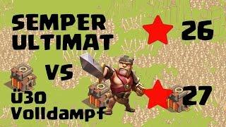 Clash of Clans: Semper Ultimat Vs. Ü30 Volldampf - Rh8 Vs. Rh10? [Deutsch]