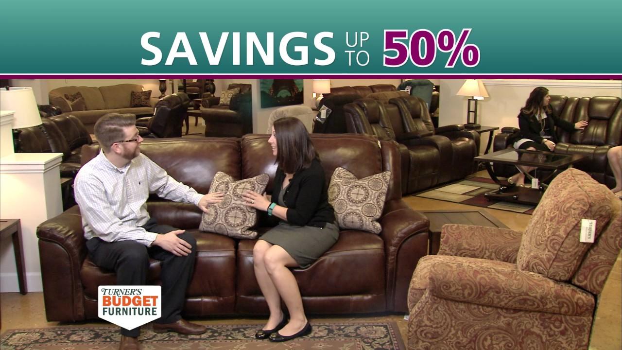 Turner S Budget Furniture Spring Sale Youtube