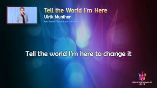 "Ulrik Munther ""Tell the World I"