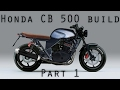 Honda CB 500 brat style cafe racer - Part1- Project overview and planning.